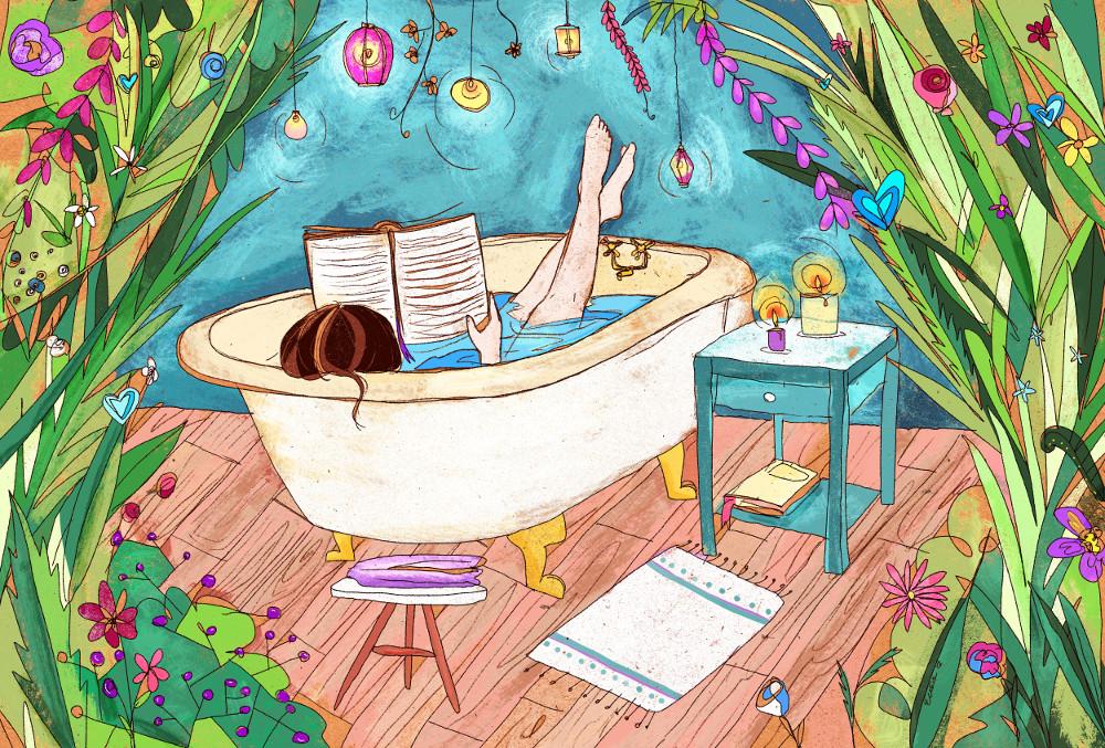 illustrazioni personalizzate esempio di pensieri illustrati