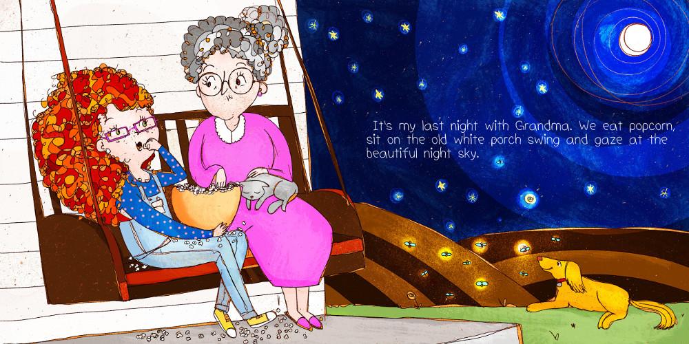 Illustrazioni personalizzate di storie per bambini.