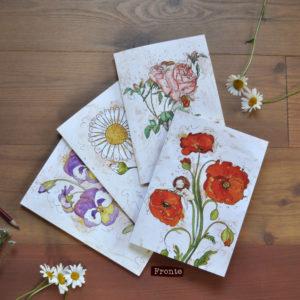 Quaderno a5 fiori botanici