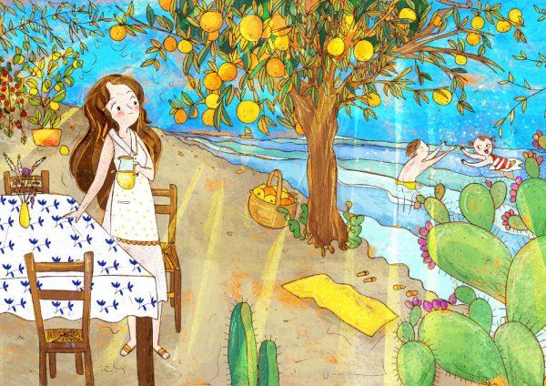 meditternea illustrazione