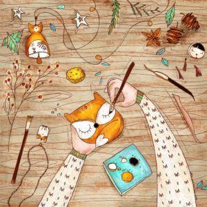 Illustrazione disegno mani artigiane che modellano ceramica