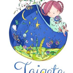 illustrazione logo su commissione per bambole di stoffa